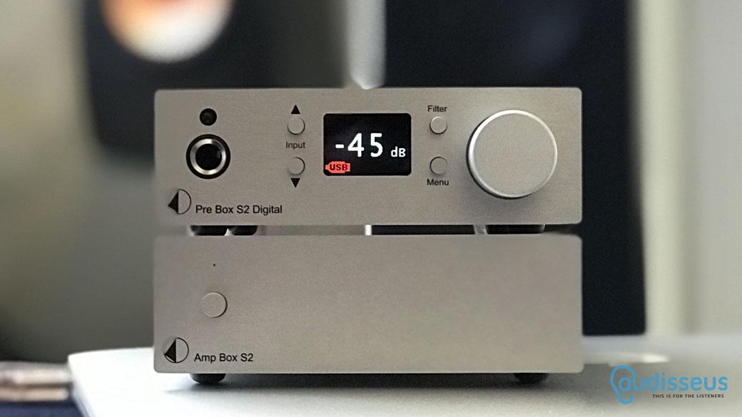Pro-Ject Pre Box S2 Digital & Pro-Ject Amp Box S2 - Praxistest  auf www.audisseus.de / Foto: Fritz I. Schwertfeger
