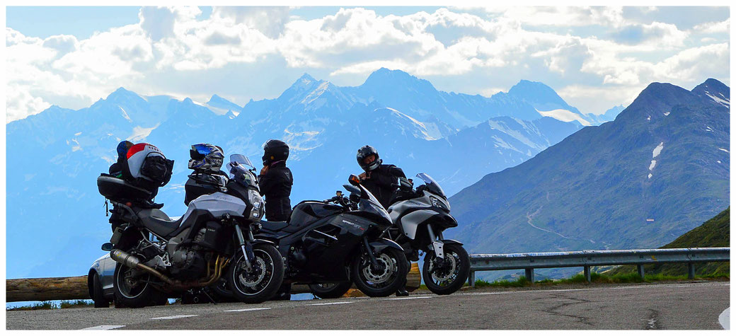 His passion for bikes and his love for traveling brings Martin and his partner all over Europe (Picture courtesy of Martin Yoxall)