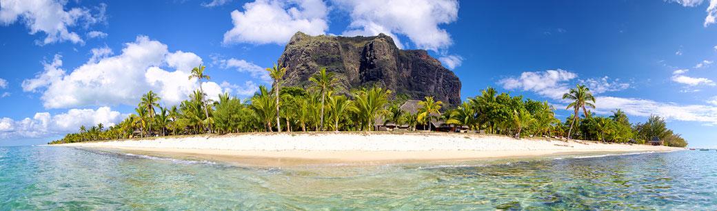 Mauritius Panorama Bild