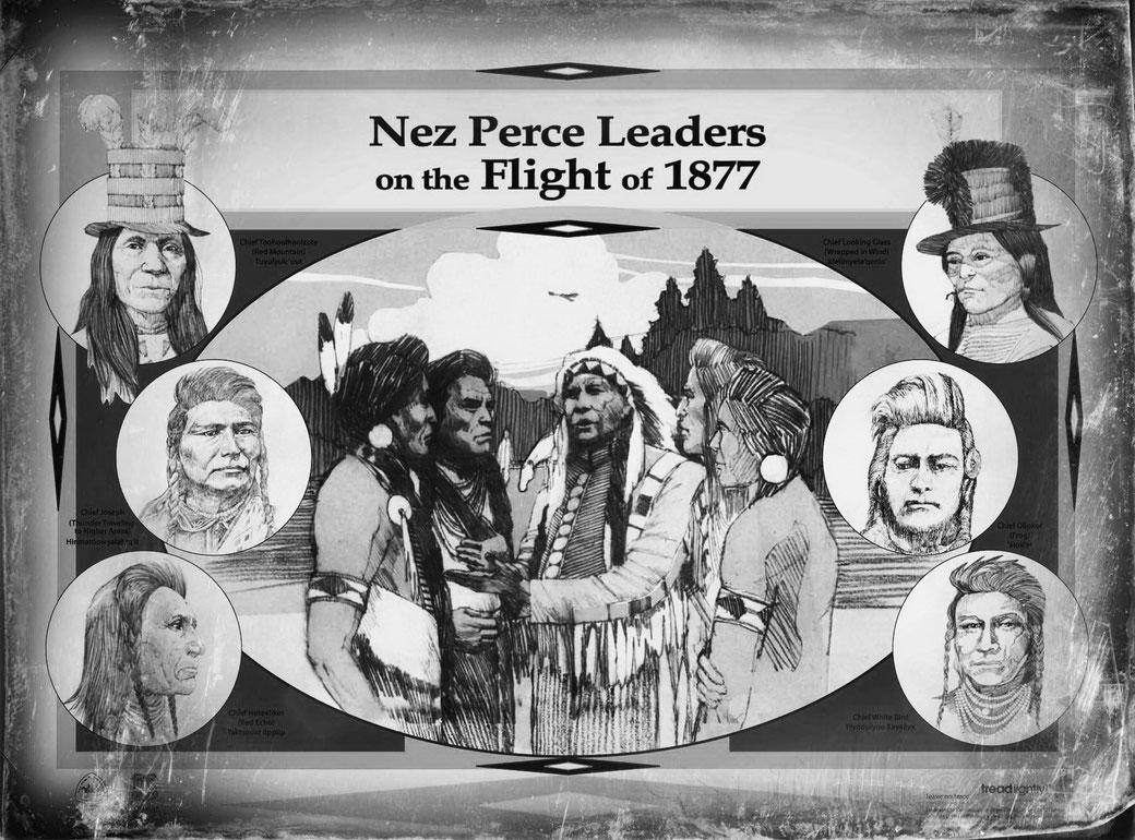 Nez Perce Leaders