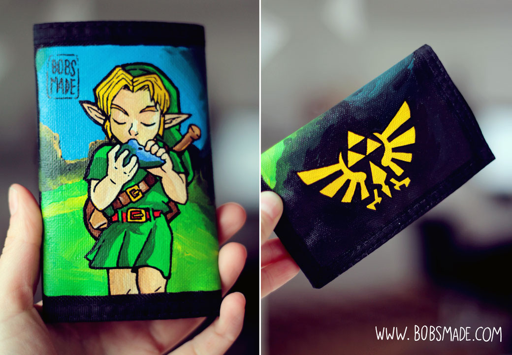 zelda wallet by bobsmade