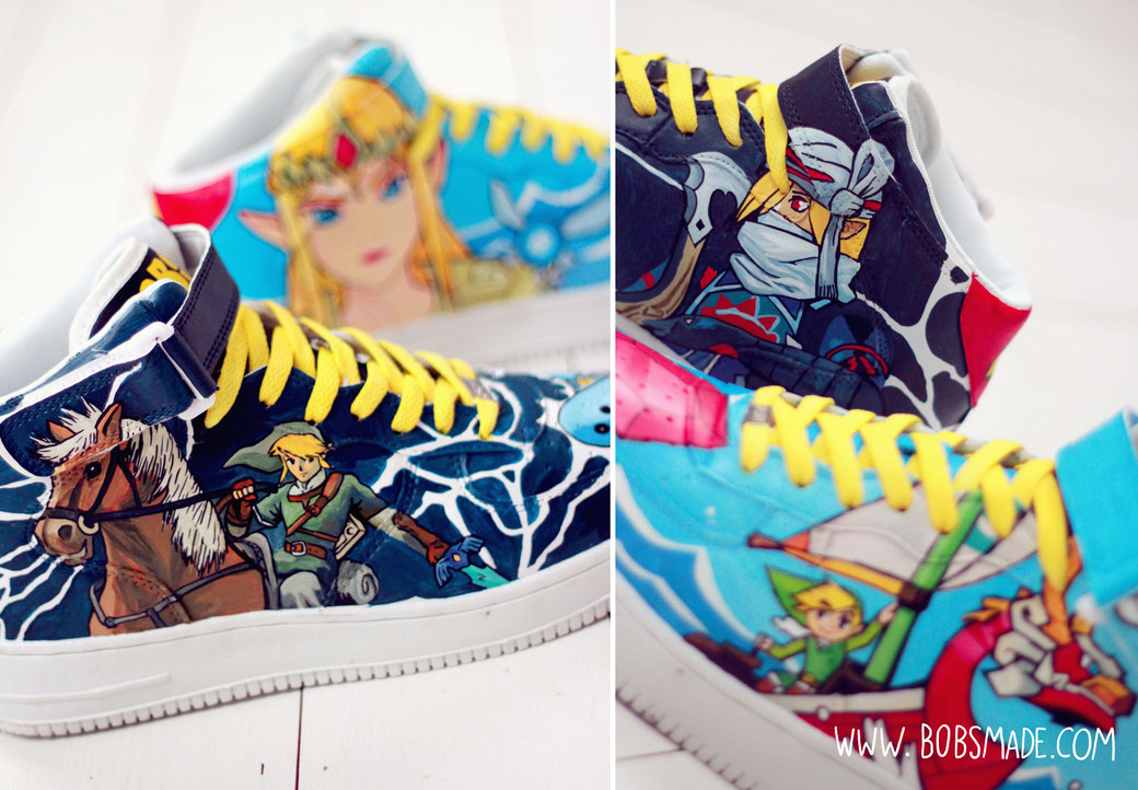 ocarina of time Zelda Sneaker