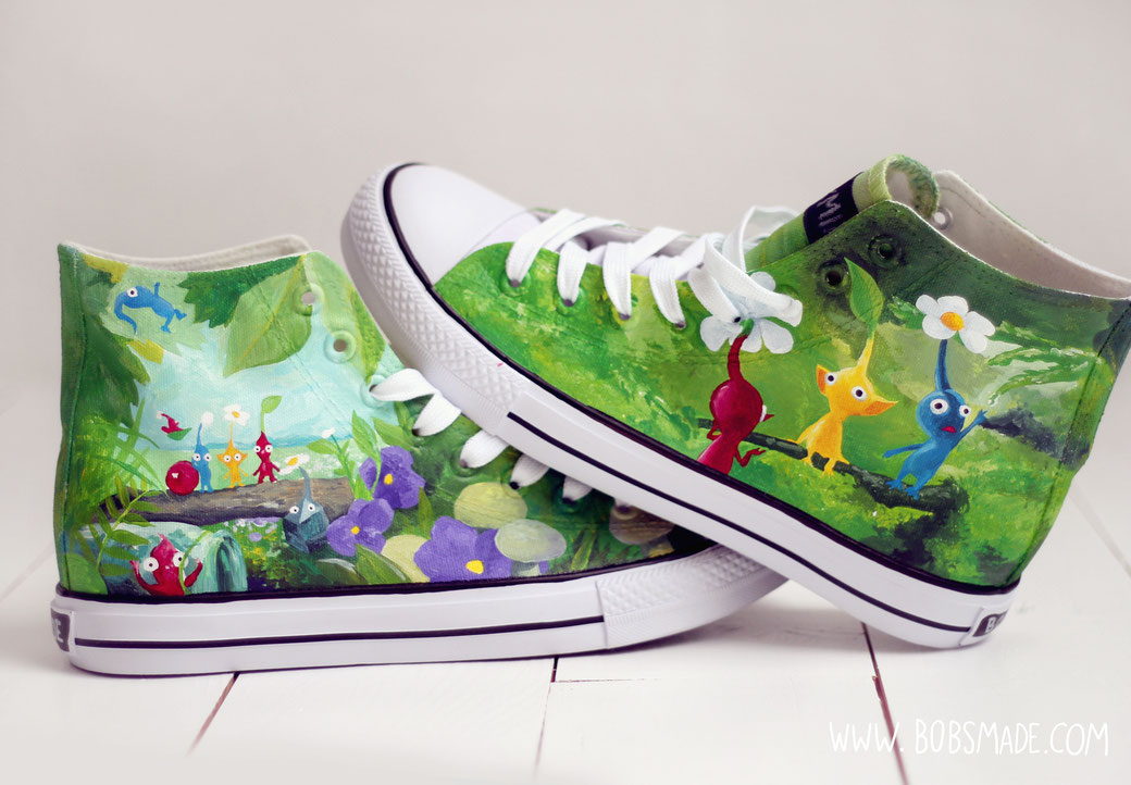 pikmin shoes by bobsmade