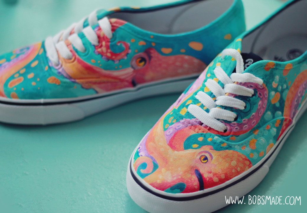 octopus shoes