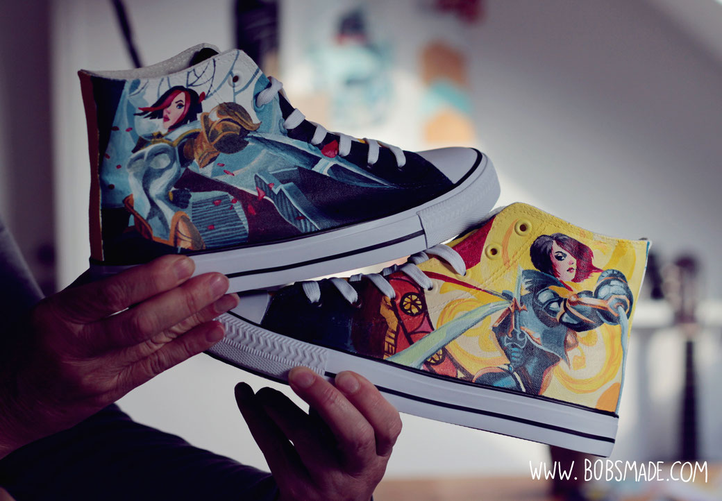 leagueoflegends Fiora Shoes by bobsmade