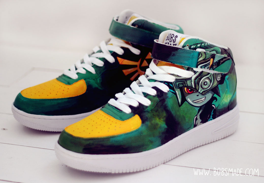 Dark Zelda Sneaker by bobsmade