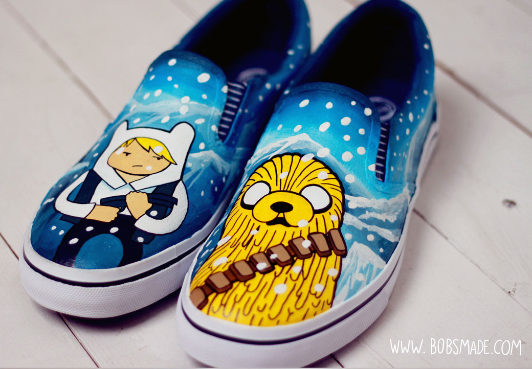 Adventure Time Star was Mashup SlipOns 03