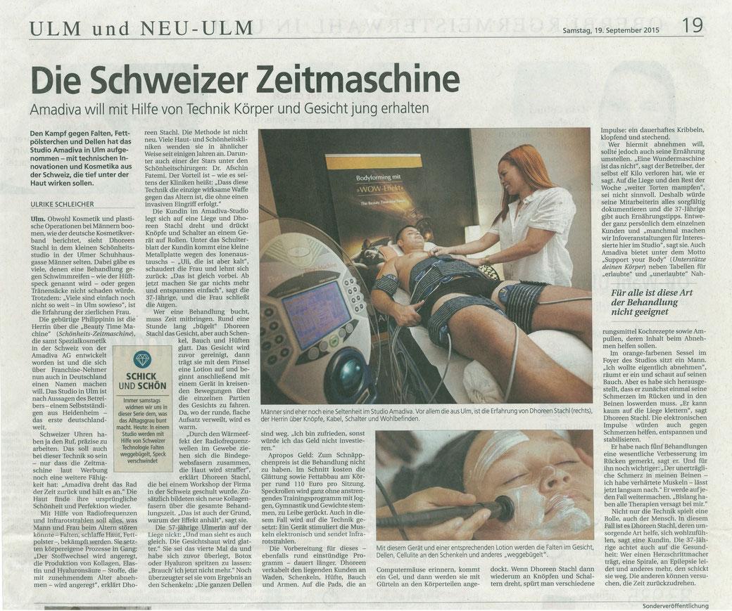 Die Schweizer Zeitmaschine Südwest Presse