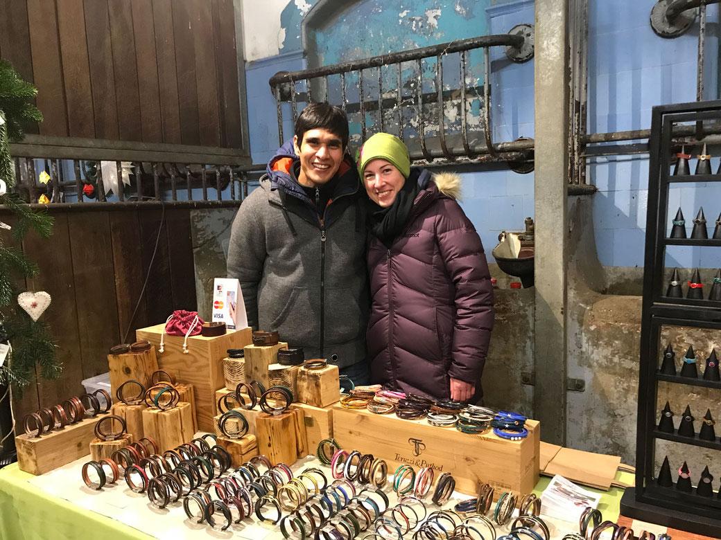 Rudy & Annika beim Weihnachtsmarkt auf dem Landgestüt in Celle