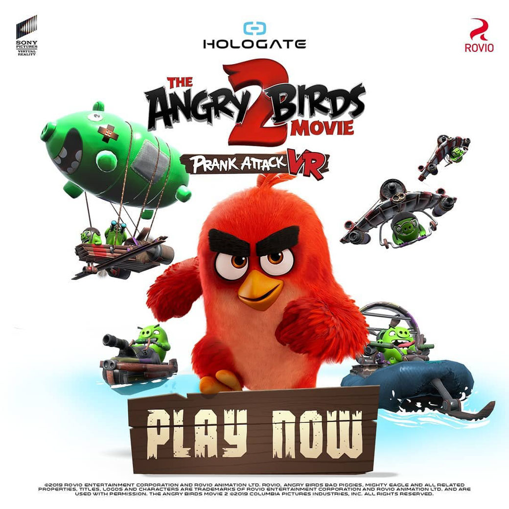 Hologate - Angry Birds VR - Promotion Picture