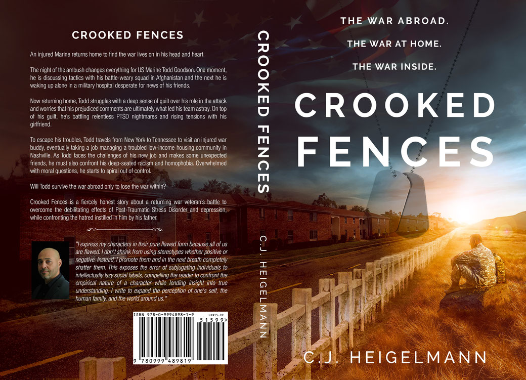 Autographed Copy of Crooked Fences: A Novel, by C.J. Heigelmann