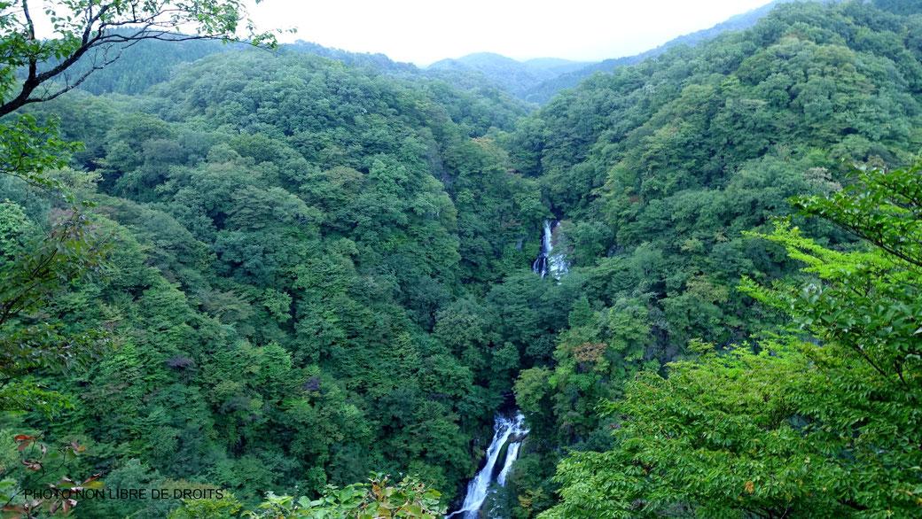 Chutes de Kirifuri, Nikko, Japon, photo non libre de droits