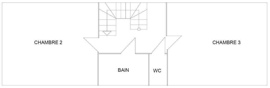 Plan de construction du premier étage