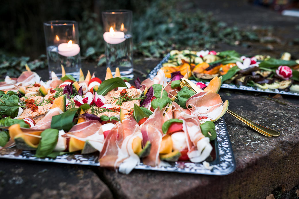 kalte italienische Platten  Food