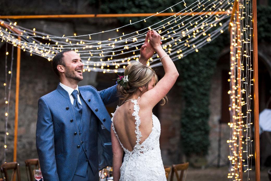 Hochzeitstanz Hochzeitspaar Laubach Lich romantisch