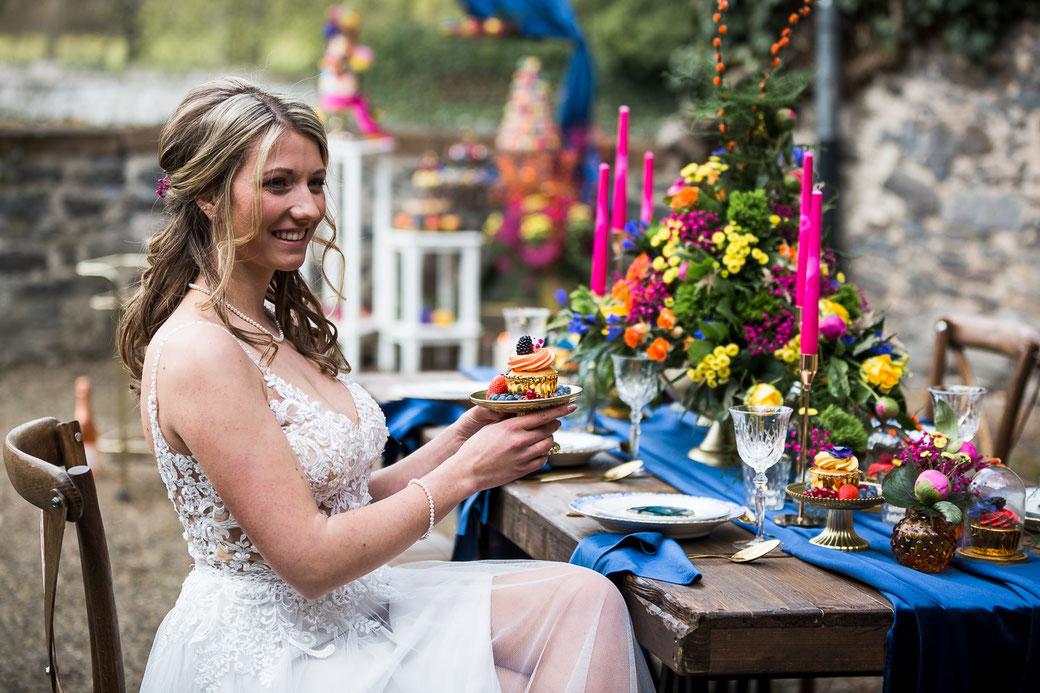 Sommer Hochzeit Braut