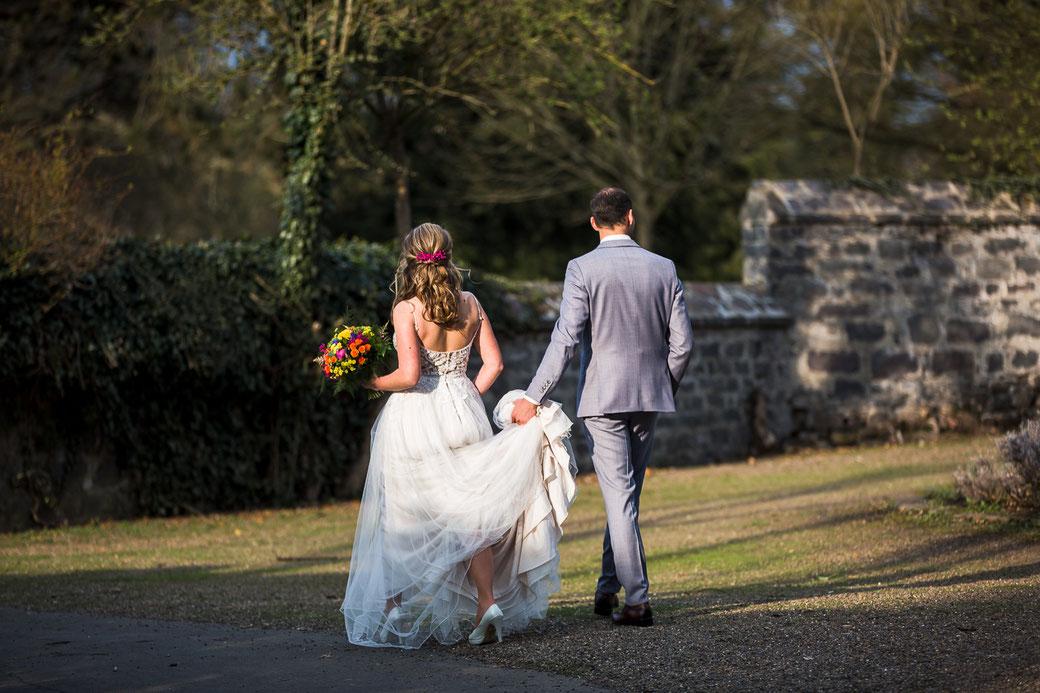 Hochzeitspaar Heiraten in Laubach Lich Schlosspark
