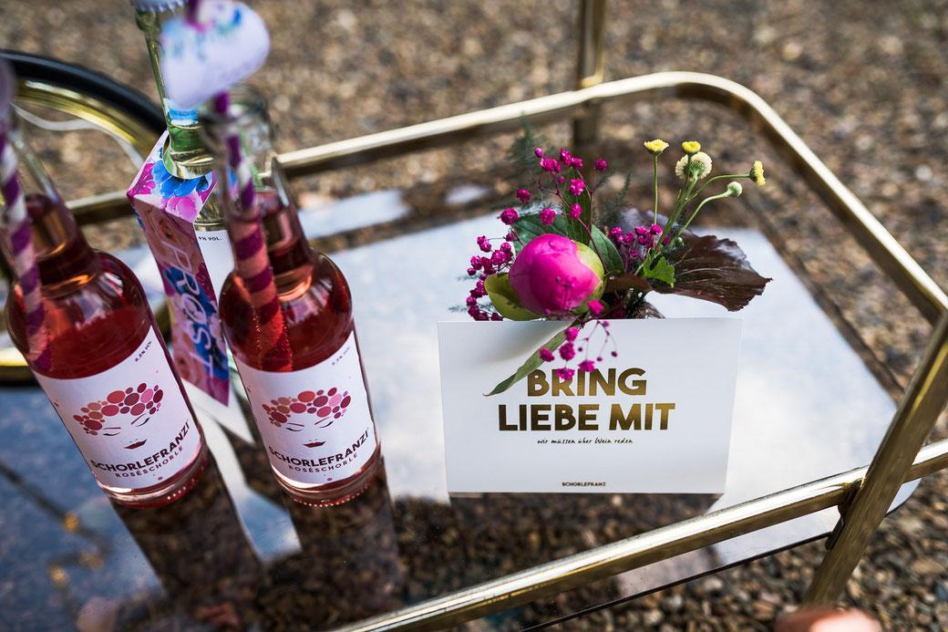 Schorlefranz roseschorle Hochzeit