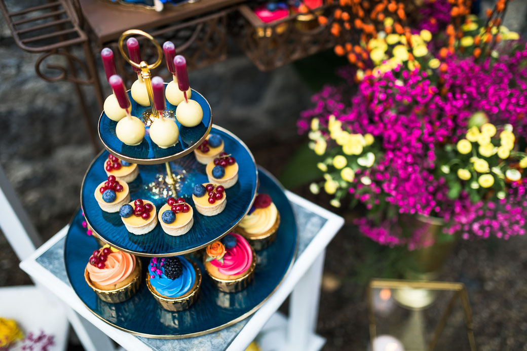 Cup Cakes Sweet Table Hochzeit