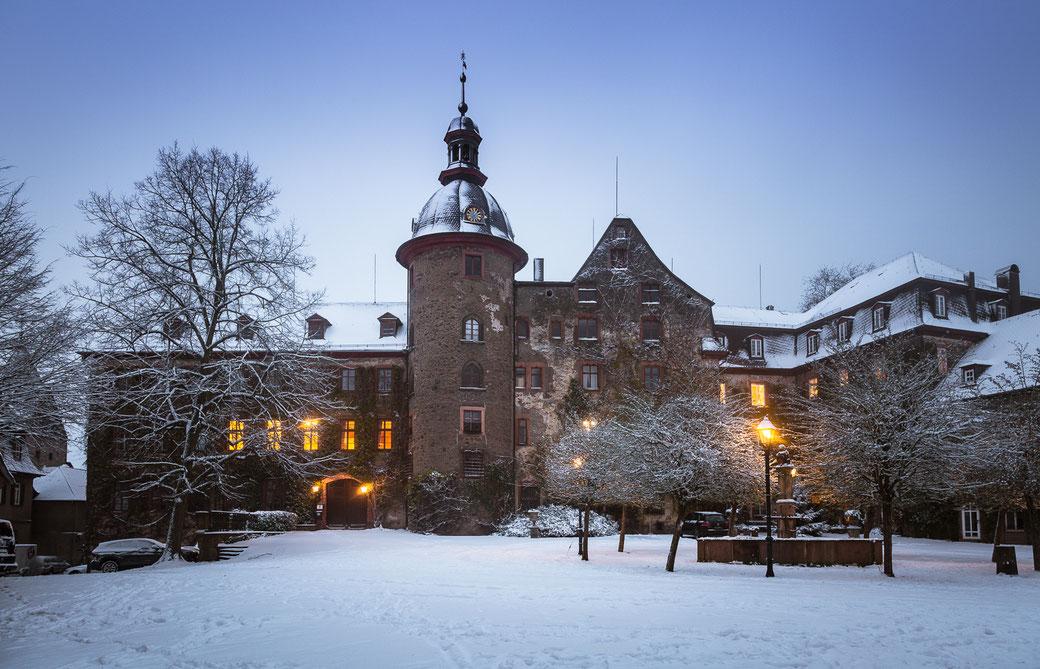 Schloss Laubach, schloss, Mittelhessen,