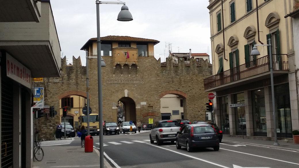 Stadtmauer von Arezzo