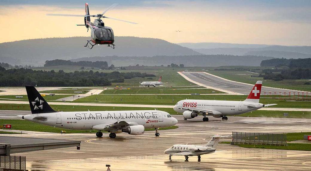 Helikopterflug ab Zürich mit BBHeli