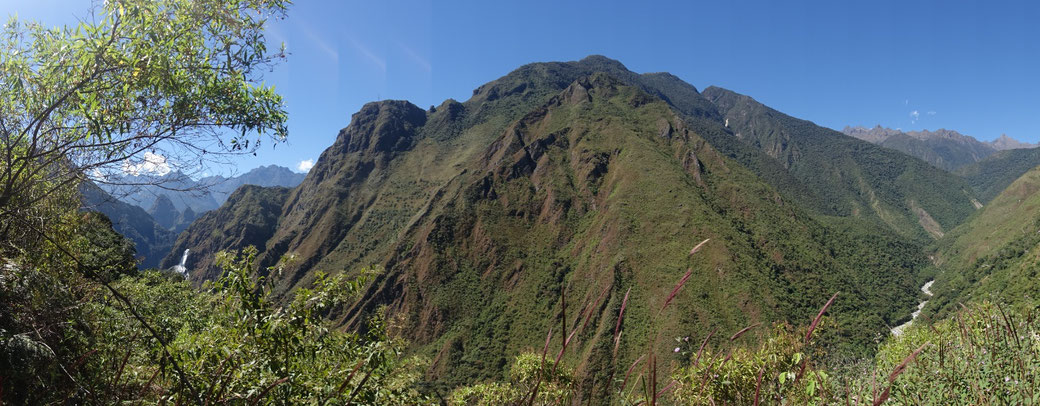 Machu Picchu vue de derière - Salkantay trek