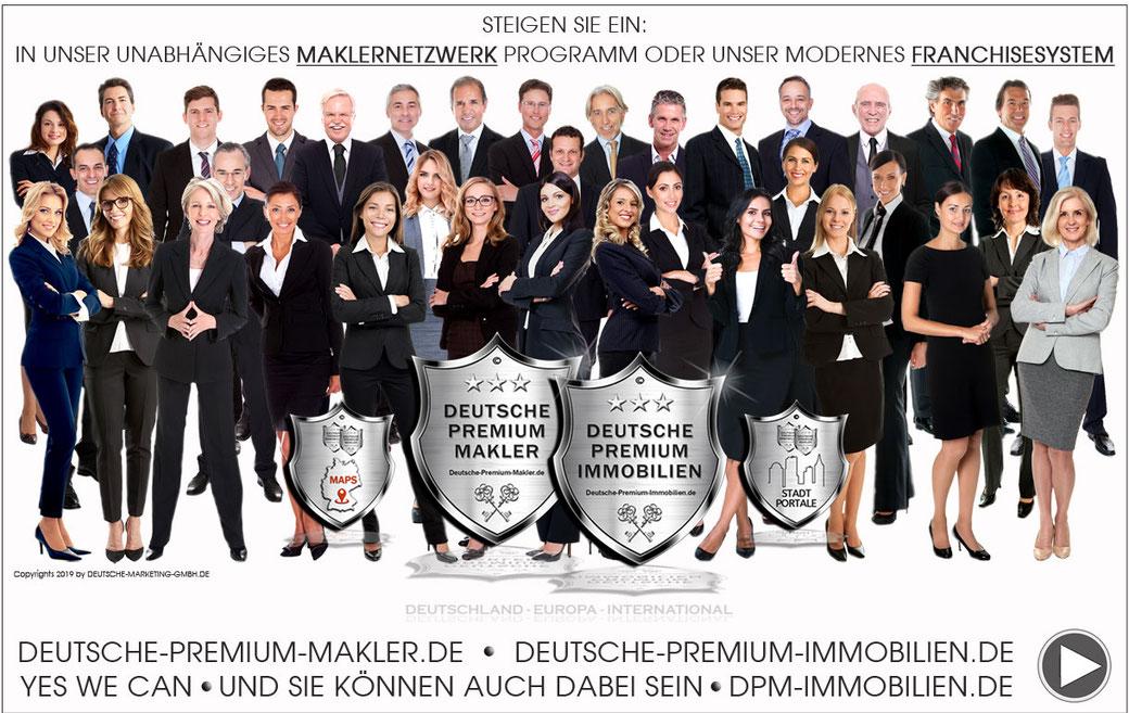 IMMOBILIEN FRANCHISE MAKLER FRANCHISING IMMOBILIENMAKLER HANDELSVERTRETER MAKLERNETZWERK
