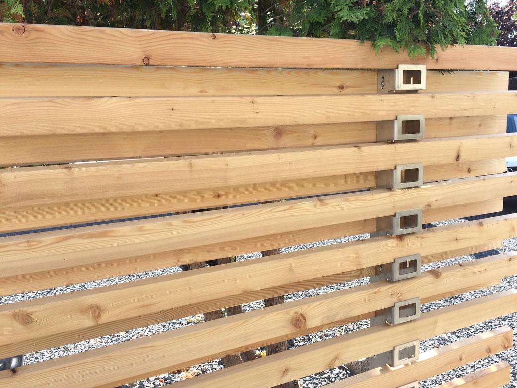 System Iv Trigone Verbindet Zaunbau Sichtschutzwande Fassaden