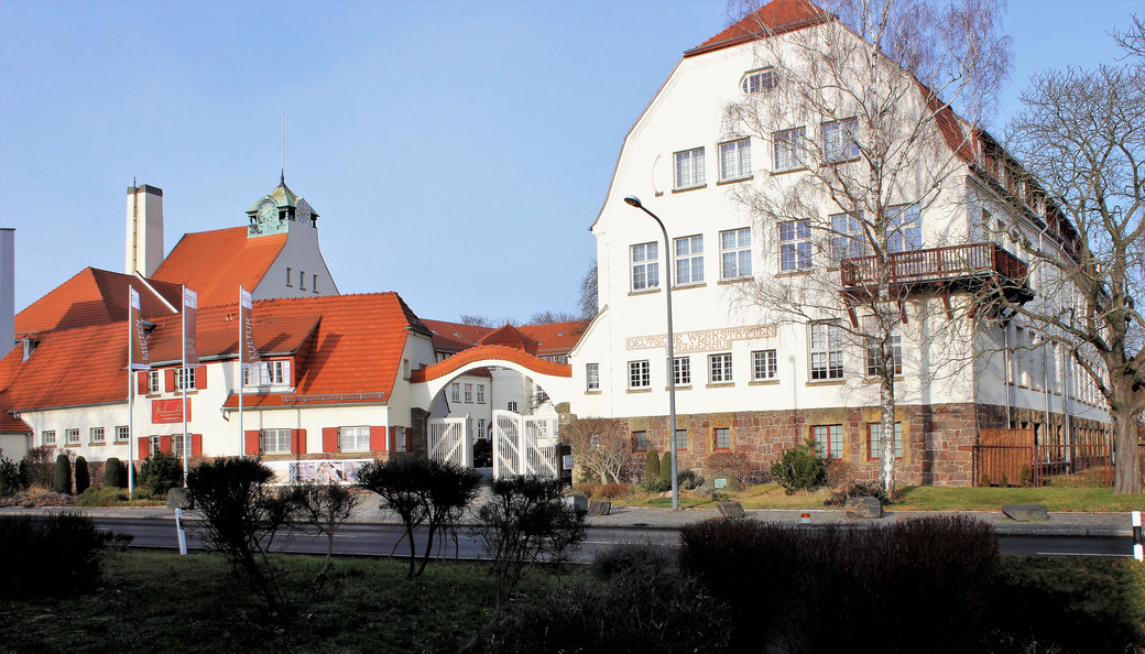 Hauptgebäude Hellerauer Werkstätten