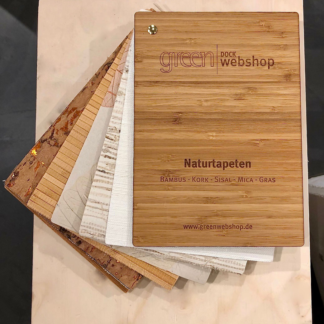 greenwebshop Kollektion Naturtapeten Mix 2020