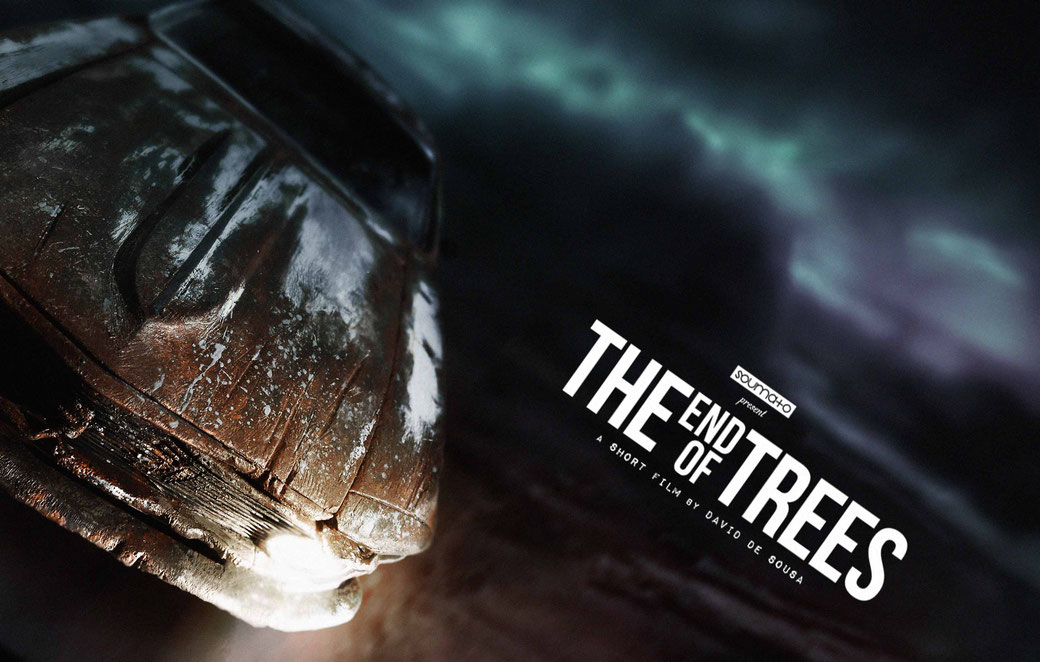 The End Of Trees FILM PROJECT - CONCEPT ART by Soumato / MUSCLE CAR - POST APOCALYPTIC - MINIATURE