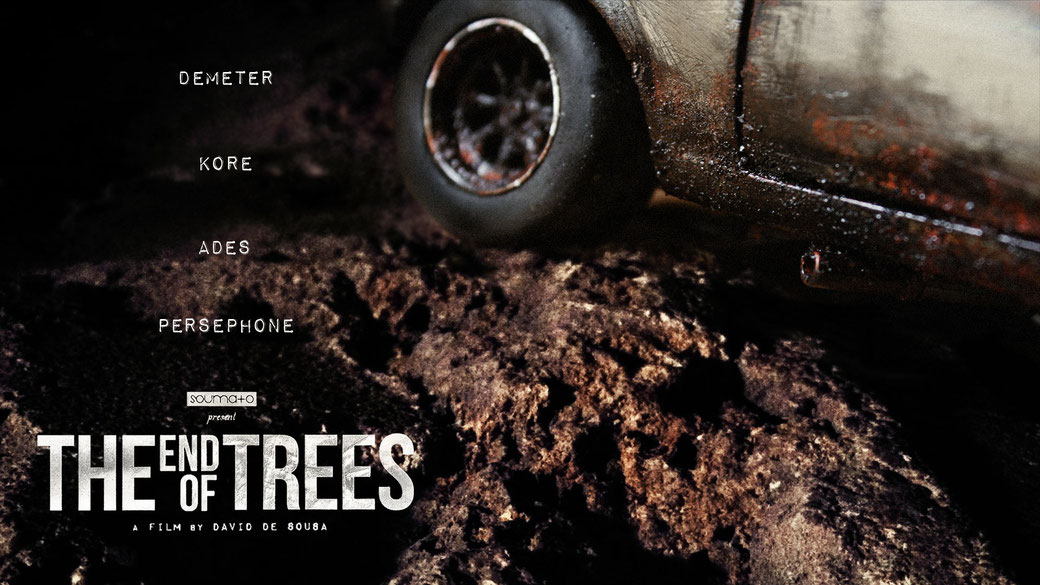 The End Of Trees FILM PROJECT - CONCEPT ART by Soumato / MUSCLE CAR - MINIATURE - PERSEPHONE