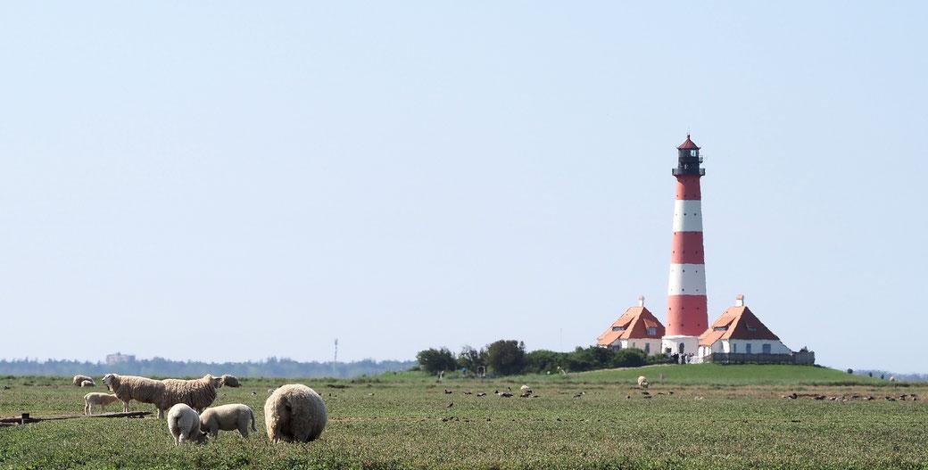 Hochzeit Leuchtturm Westerhever, Heiraten Leuchtturm, Westerhever Leuchtturm bei St. Peter-Ording, Nordsee, Nordfriesland, 2018, 2019, 2020, 2021
