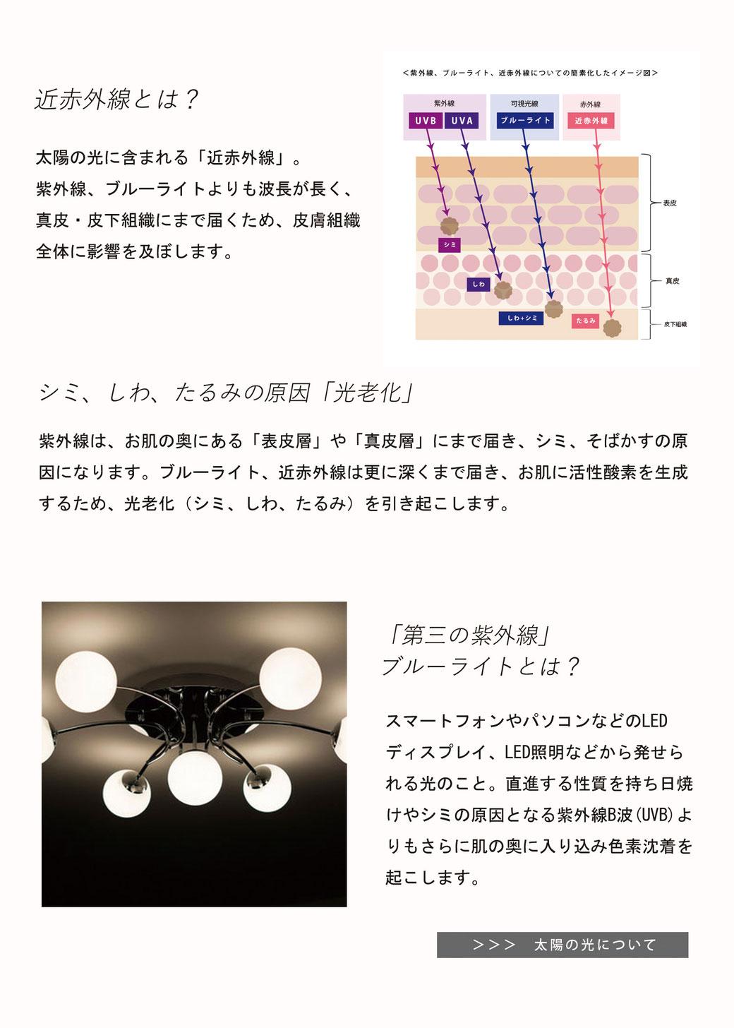 新・紫外線散乱剤「酸化セリウム」使用