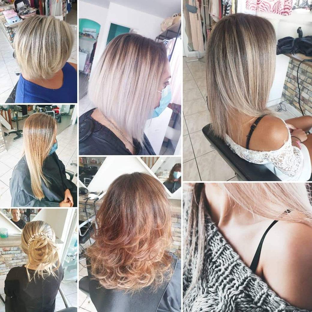 idées coiffure cheveux blonds