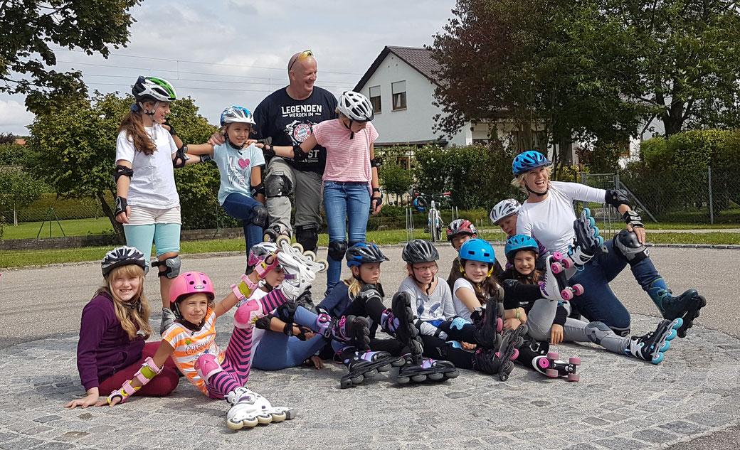 Skate Kurse in Gruppen oder einzeln - Lernen & Trainieren