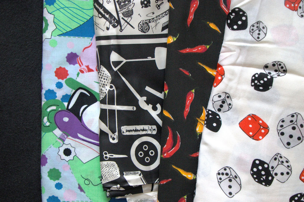 9 pros and cons about deadstock fabrics - sewing prints - Zebraspider Eco Anti-Fashion