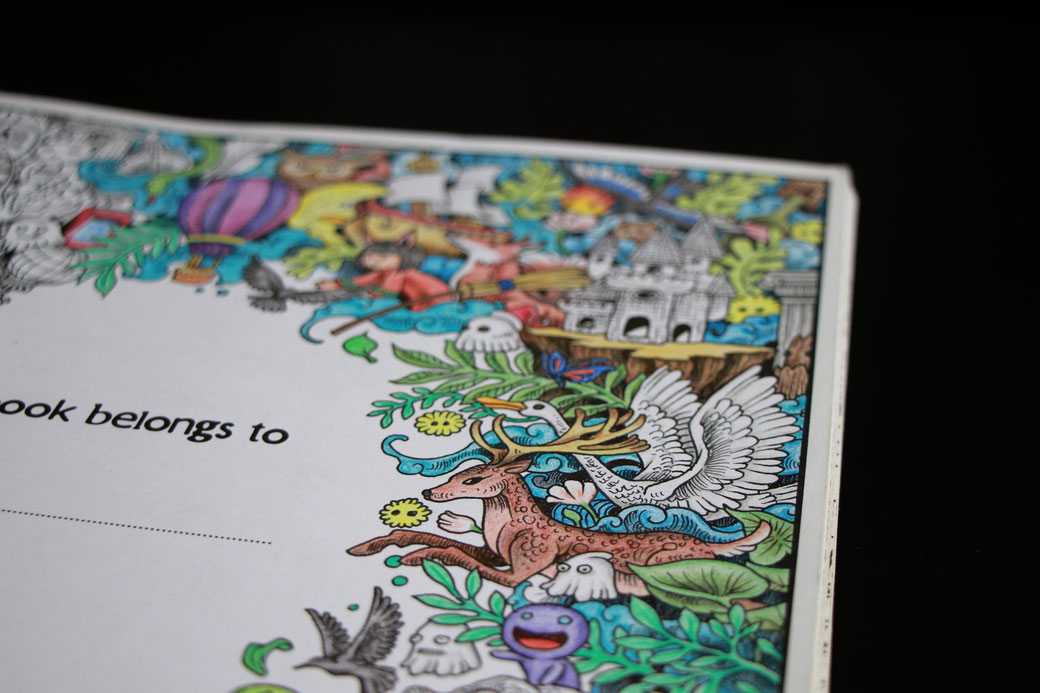 My new camera and other things I love - colouring book - Zebraspider Eco Anti-Fashion