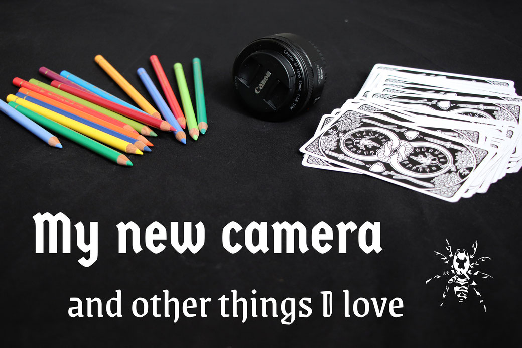 My new camera - and other things I love - Zebraspider Eco Anti-Fashion