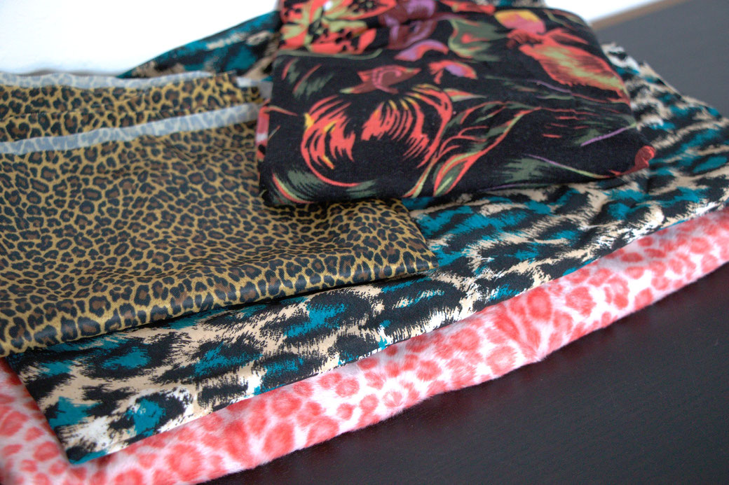 9 pros and cons about deadstock fabrics - leopard prints - Zebraspider Eco Anti-Fashion