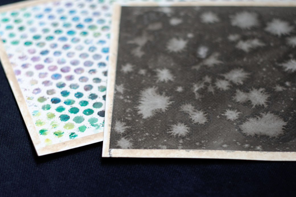 My 100-day project: Designing fabric patterns - watercolour experiments - Zebraspider Eco Anti-Fashion Blog