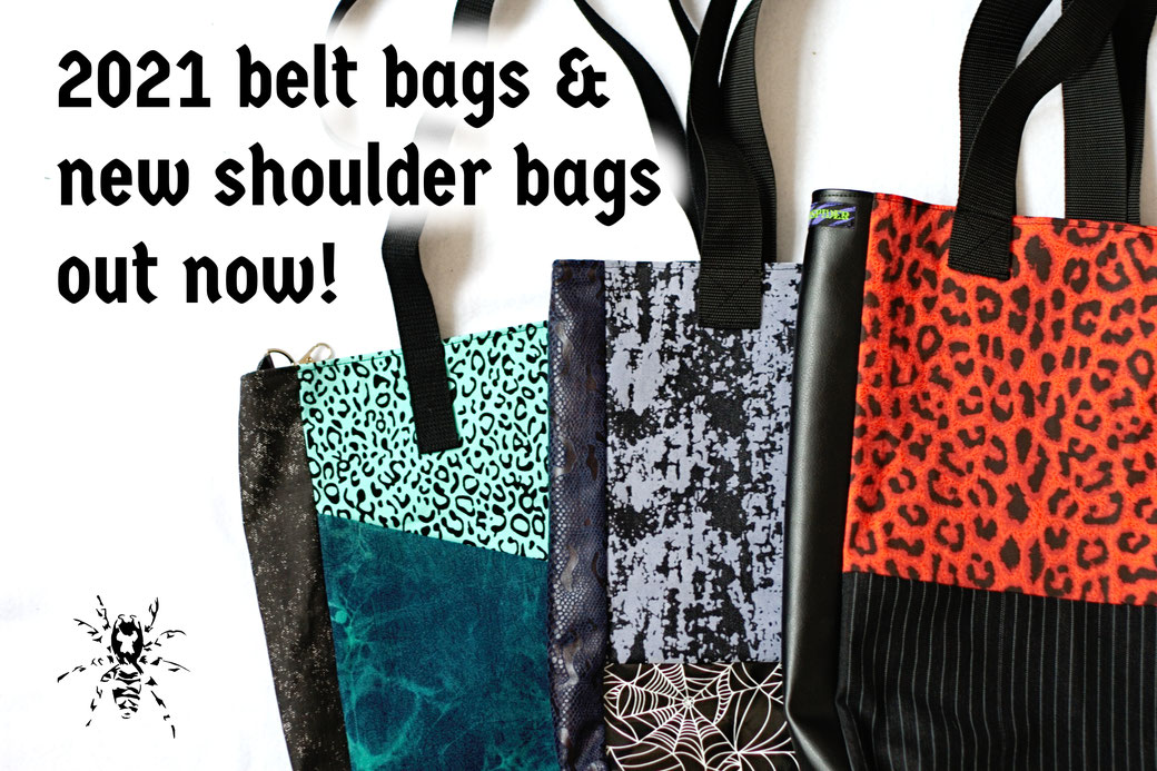 2021 belt bags and new shoulder bags out now! - Zebraspider Eco Anti-Fashion
