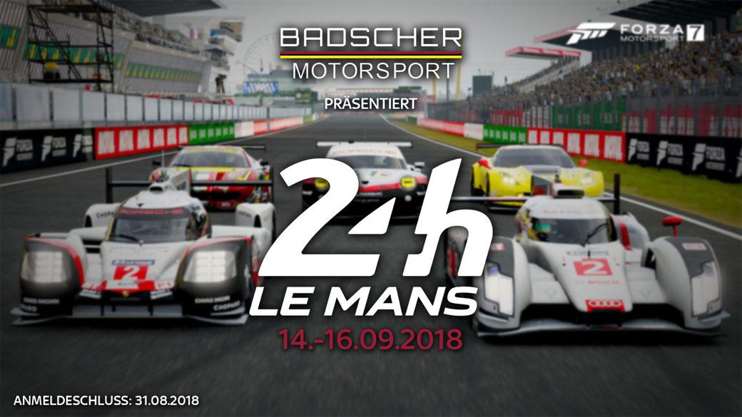 24h Le mans - 2018 - badscher-motorsports Webseite!