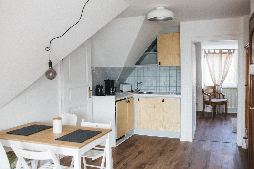 Kleine Küchenzeile