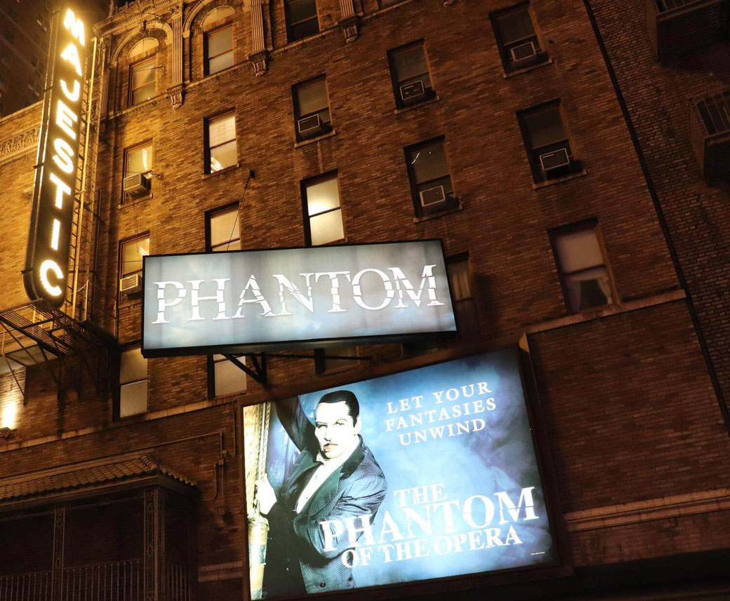 Phantom der Oper New York Broadway