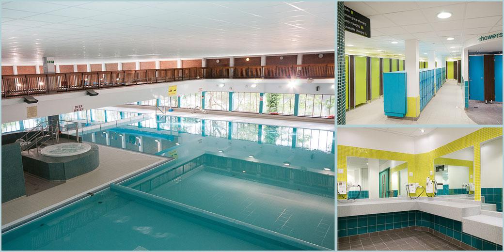 north devon leisure centre refurbishment commercial photography project
