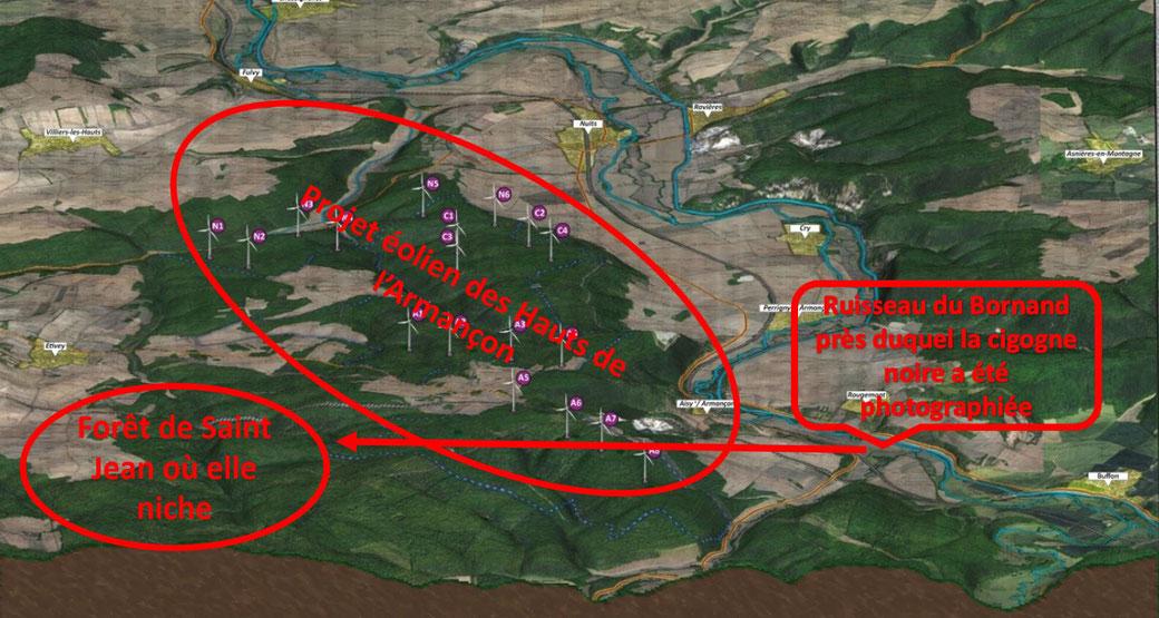 Projet éolien des Hauts de l'Armançon
