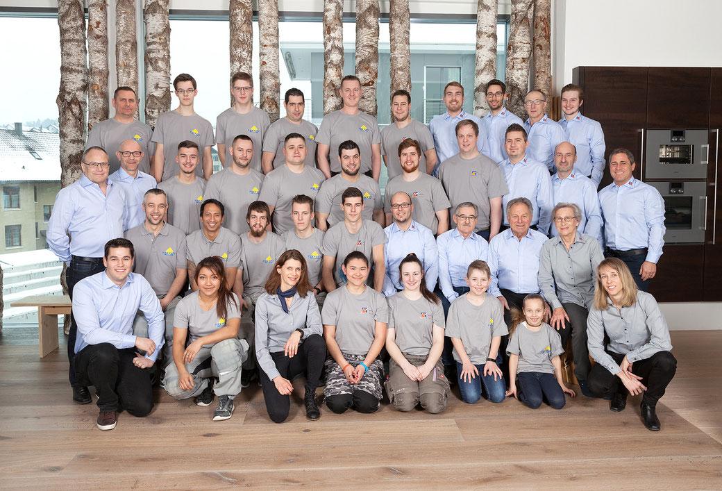 Bild: Käppeli AG, Mitarbeiter, Parkett Käppeli GmbH
