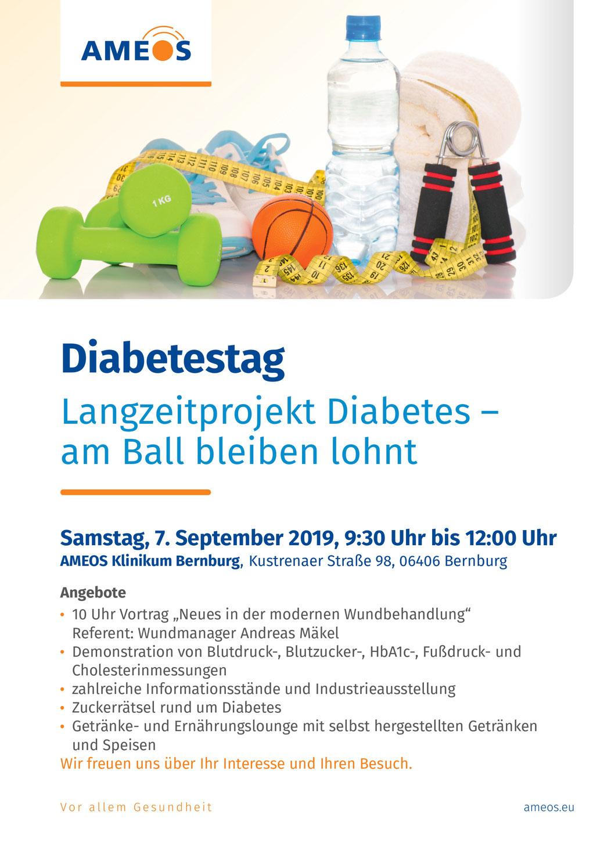 Diabetes Tag Klinz Ameos Bernburg
